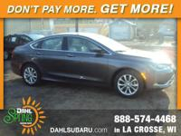 Recent Arrival! 2015 Chrysler 200 C Clean CARFAX.