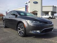 Options:  2015 Chrysler 200 C|Leather Trimmed Bucket
