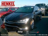 Options:  2015 Chrysler 200 C|Black Clearcoat|Black