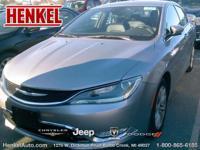 Options:  2015 Chrysler 200 C|Billet Silver Metallic