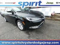New Inventory.. Extremely sharp! This 2015 Chrysler 200