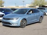 Clean CARFAX.  2015 Chrysler 200 C 19/32mpg 3.6L V6 24V