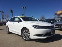 Options:  2015 Chrysler 200 C|White|Looks And Drives