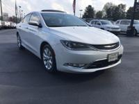 Options:  2015 Chrysler 200 4Dr Sedan C Fwd|This 2015
