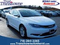 New Price! This 2015 Chrysler 200 Limited in Bright