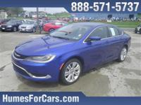 Checkout this Humes Vivid Blue Pearlcoat 2015 Chrysler