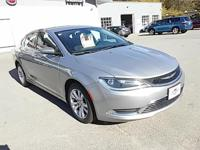 Step into the 2015 Chrysler 200! This vehicle rocks its