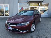 Outstanding design defines the 2015 Chrysler 200! This