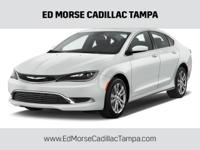 CARFAX One-Owner. Clean CARFAX. White 2015 Chrysler 200