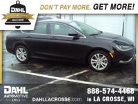 Recent Arrival! 2015 Chrysler 200 Limited CARFAX