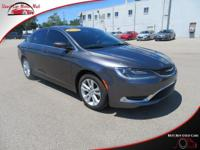 TECHNOLOGY FEATURES:  This Chrysler 200 Includes