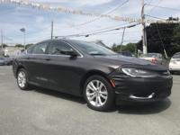2015 Chrysler 200 Limited Gray 200 Limited, Compass,