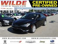 Options:  2015 Chrysler 200 Limited|Black