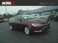 2015 Chrysler 200, key features include: a Back-Up