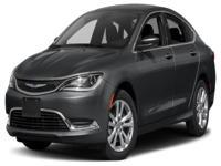 Options:  2015 Chrysler 200 Limited|For Internet