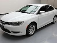 This awesome 2015 Chrysler 200 Series comes loaded with