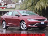 2015 Chrysler 200 Velvet Red Pearlcoat  CARFAX