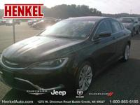 Options:  2015 Chrysler 200 Limited|Black