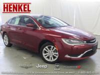 Options:  2015 Chrysler 200 Limited|Velvet Red