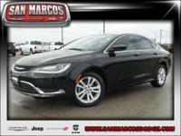 Options:  2015 Chrysler 200 Limited|Gloss Black/|V4 2.4