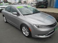Options:  2015 Chrysler 200 Limited|Limited|4Dr Sdn