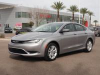 4 Cylinder  Options:  Automatic|This 2015 Chrysler 200