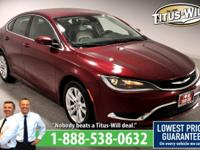 Recent Arrival!2015 Chrysler 200, Red, Completely