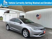 Outstanding design defines the 2015 Chrysler 200!