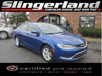 Options:  2015 Chrysler 200 Limited|Factory