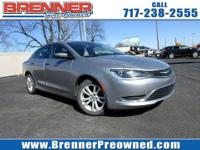 Check out this 2015 Chrysler 200 Limited. Its Automatic