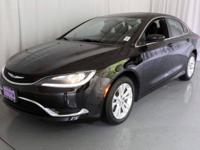 200 Limited, Chrysler Certified, and 4D Sedan. One