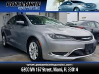 2015 Chrysler 200Limited. Don't let the miles fool you!