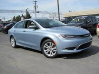 Look at this 2015 Chrysler 200 Limited. Its Automatic