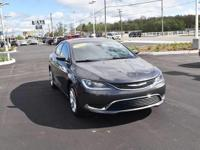 This 2015 Chrysler 200 Limited is offered to you for
