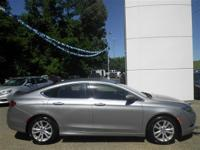 Options:  2015 Chrysler 200 Limited|Gray|2.4L 4