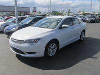 Options:  2015 Chrysler 200 Limited|Miles: 62832Color: