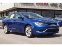 Climb inside the 2015 Chrysler 200! Comprehensive style