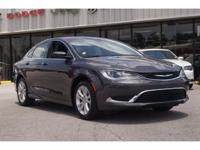 Climb inside the 2015 Chrysler 200! It just arrived on