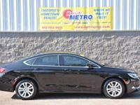 2015 Chrysler 200 Limited  in Black Clearcoat,