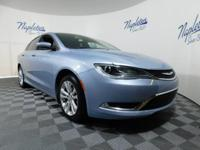 New Price! 2015 Chrysler 200 Ceramic Blue Clearcoat **