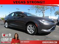 Options:  2015 Chrysler 200 Limited|Gray|200 Limited|4D