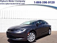 *Come check out this ONE OWNER Chrysler 200 LX with