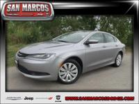 Options:  2015 Chrysler 200 Lx|Gray/|V4 2.4 L