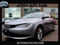 2015 Chrysler 200 - 1 Previous Owner - Auto Delay Off