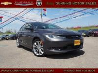 granite crystal metallic clearcoat 2015 Chrysler 200 S