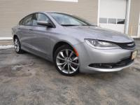 Get the BIG DEAL on this amazing 2015 Chrysler 200 S at