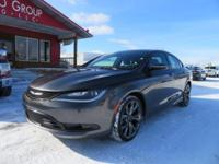 Options:  2015 Chrysler 200 Navigation! Alpine Audio!