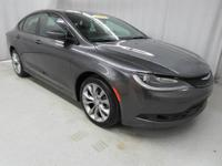 Billet Silver Metallic Clearcoat 2015 Chrysler 200 S