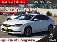 New Price! Clean CARFAX. Bright White Clearcoat 2015