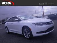 Used Chrysler 200, options include:  Power Windows,